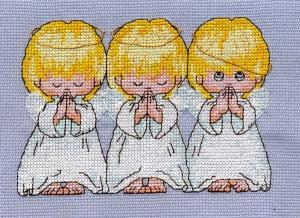 Вышивка Ангелы и плодородие