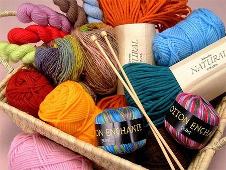 Пряжа для вязания кофты спицами