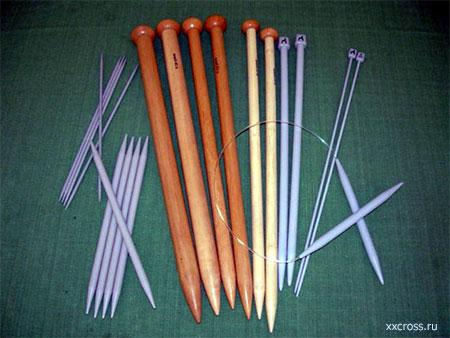 Выбор спиц для вязания кофты